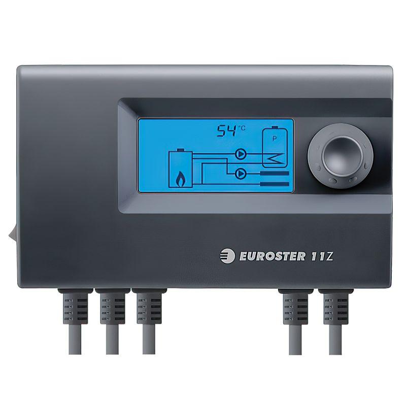 Двухканальный контроллер насоса Ц.О. и насоса ГВС Euroster 11Z