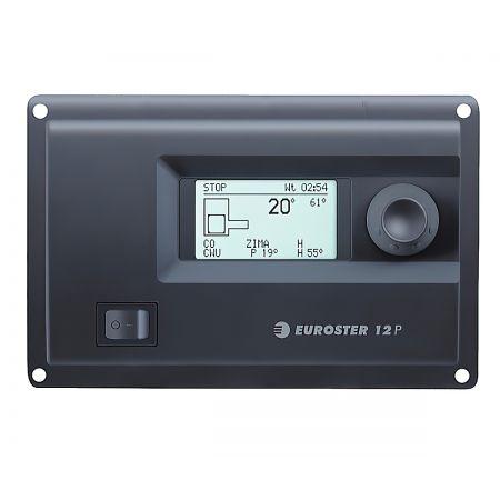 Контроллер твердотопливного котла со шнеком Euroster 12P