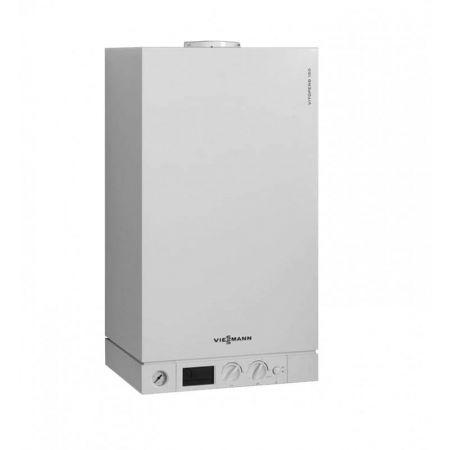 Газовый двухконтурный котел Viessmann Vitopend 100-W WH1D K-rla 27.3 кВт, дымоход