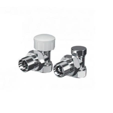 Комплект термостатический Royal Thermo 1/2 (хром) угловой