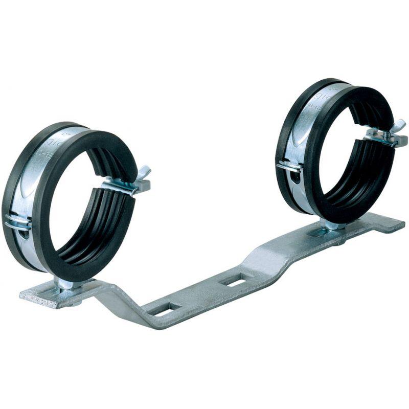 Кронштейн металлический с 2-мя воротниками для коллекторов START
