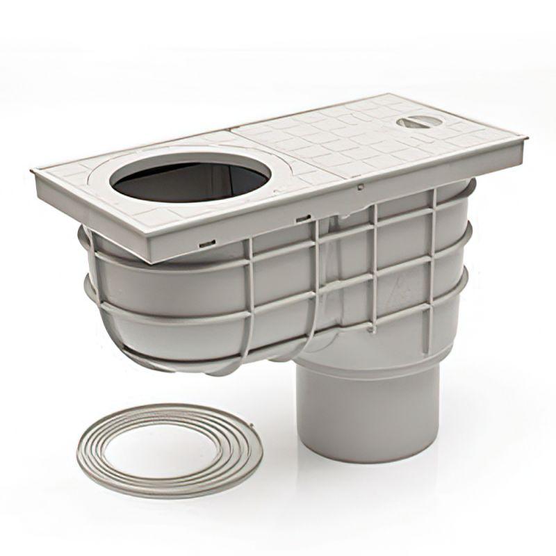 Дождеприемник пластиковый MCH 325 Es серый (390 л/мин)