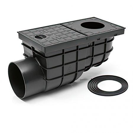 Дождеприемник пластиковый MCH 325 G чёрный (375 л/мин)