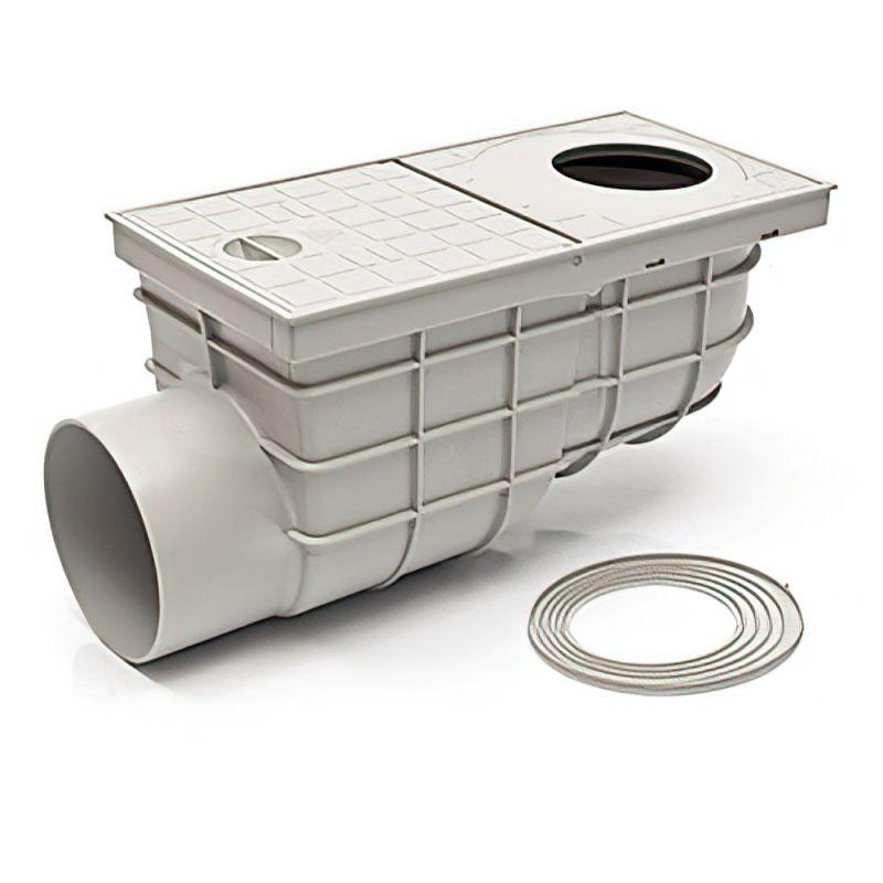 Дождеприемник пластиковый MCH 325 Gs серый (375 л/мин)