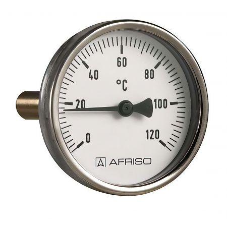 """Термометр Bith 63 мм, шток 150 мм, T 0…120°C, соед. 1/2"""""""