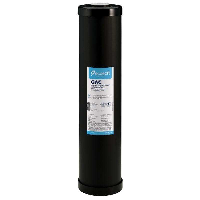 """Картридж для фильтра Ecosoft 4,5""""х20"""" гранулированный уголь"""