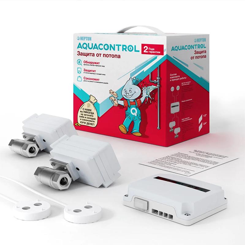 Комплект контроля от протечки воды Neptun Aquacontrol 1/2