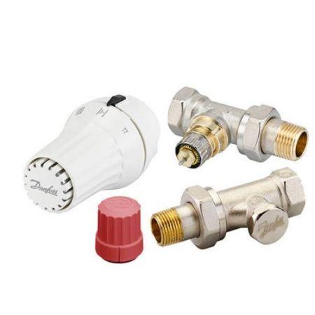 Комплект термостатический прямой Danfoss RAE+RA-N+RLV-S 1/2