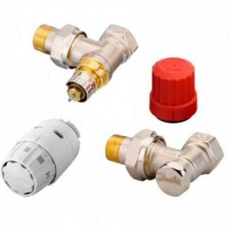 Комплект термостатический угловой Danfoss RAS-C2+RA-N+RLV-S 1/2