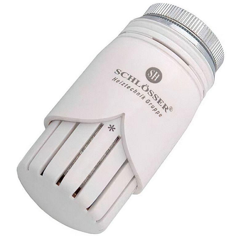 Термостатическая головка Schlosser DIAMANT HT Белая (M28x1.5)