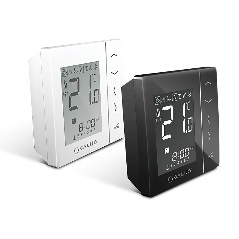 Беспроводной комнатный термостат Salus VS20RF 4 в 1 черный