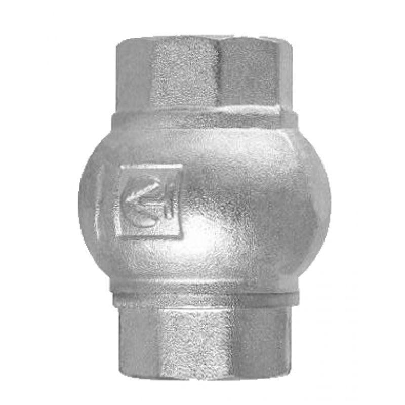"""Обратный клапан с латунным золотником ВВ 1"""" Valtec"""