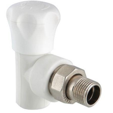 """Клапан PPR для подключения радиатора угловой 20х1/2"""""""
