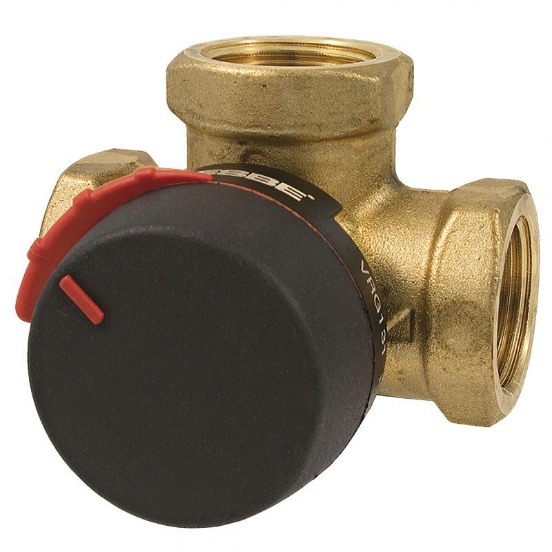 """Комплект VRG131 клапан 3-ходовой G1 1/4 """"DN20 kvs 6,3 + CRC111 электропривод 30В 120сек. 6Нм 3 точки"""