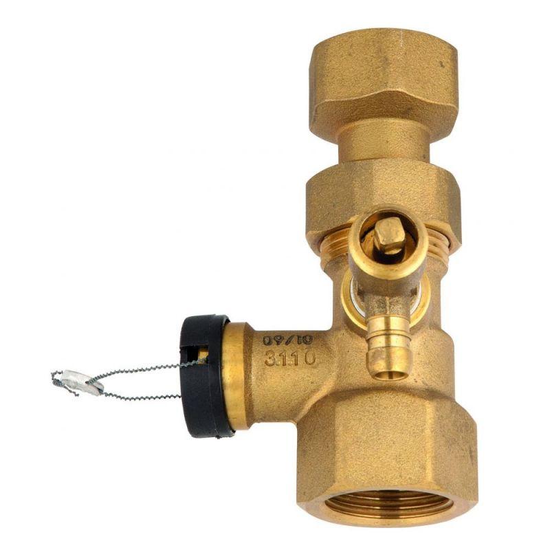 Клапан для подключения расширительного бака 1'' Х 1''