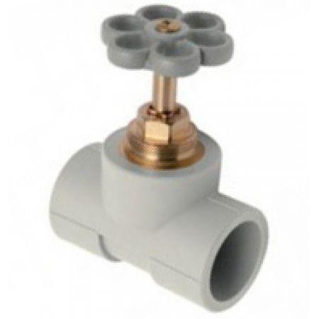 Запорный проходной вентиль для открытого монтажа Kan-Therm PP 32 ММ