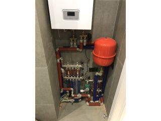 Монтаж системы отопления в коттеджном поселке Балатон